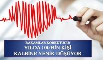 Yılda 300 Bin Kişi Kalp Krizi Geçiriyor. 100 Bin Kişi İse