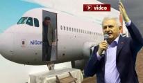 Yıldırım Niğde'de CHP'nin Yerli Uçağını İnceledi video