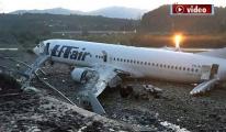 Yolcu uçağı düştü 1 ölü!