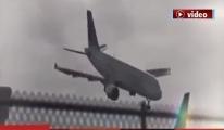 Yolcu uçağı havada 8 takla attı!video