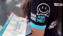 Yolcular 'Bana Sor' Projesi'ni çok beğendi!video