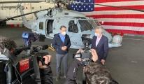 Yunan Başbakan Miçotakis'ten ABD Uçak Gemisi ziyareti