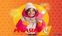 #Pegasus uçak Yurt İçi Biletler %30 İndirimli