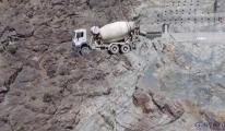 Yusufeli Barajı'nda, 241 metre gövde yüksekliği(video)