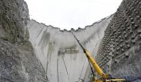 Yusufeli Barajı'nın tamamlanmasına 21 metre kaldı