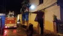 Yusufeli Belediyesi lojmanlarında yangın