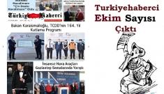 Türkiye Haberci Gazetesi Ekim Sayısı Çıktı!