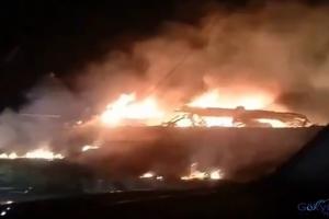 Askeri uçak düştü! 18 kişi hayatını kaybetti(video)