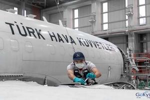 Barış Kartalı HİK uçaklarının lojistiği yerli sanayii (video)