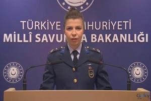 Binbaşı Pınar Kara'nın yaptığı açıklama(video)