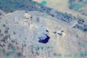 video F-16'lar, Irak'ın kuzeyinde terör yuvalarını vurdu