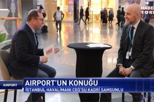 Kadri Samsunlu yolcu ve uçuş rakamlarını açıkladı(video)