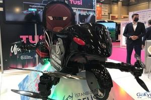 (video)MÜSİAD EXPO 2020'de uçan araba Tusi yerini aldı