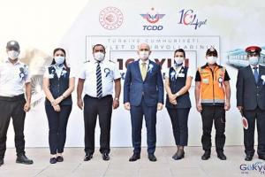TCDD'nin 164. Yıl Kutlama Programı(video)