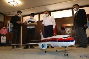 TEKNOFEST'te, maket yolcu uçağını sergileyecek(video)