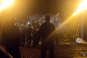 Uçak kazası Çok sayıda ölü ve yaralı var(video)
