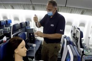 Uçaklarda COVID-19'a maruz kalma riski(video)