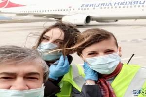 video 492 Türk işçi 3 uçakla Adıyaman'a getirildi!