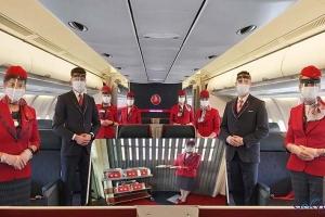 video THY uçaklarında hijyen ekibi iş başında