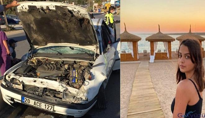 16 yaşındaki sürücünün kontrolünden çıkan otomobil takla attı