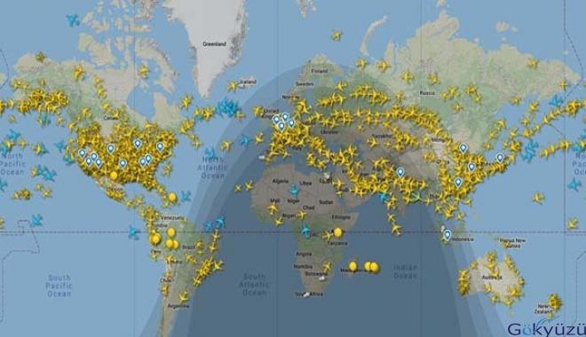 20 Mayıs'ta günlük uçuş trafiği 110 bine çıktı