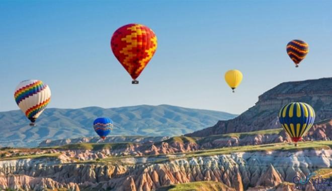 2020'de sıcak hava balonu uçuş hedefi 600 bin