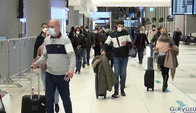 2020 yılında 23 milyon yolcu,İstanbul Havalimanı'nı kullandı