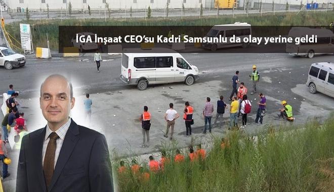 3. Havalimanı'nda işçiler zehirlendi
