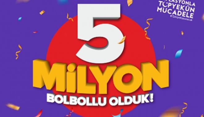 5 Milyon BolBolluya 5 Kat BolPuan!