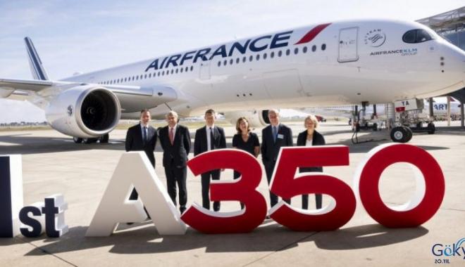 A350 ilk ticari seferini 7 Ekim'de gerçekleştirecek
