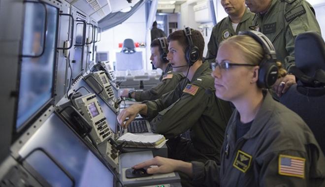 ABD uçağı Kerç boğazında keşif uçuşu yaptı
