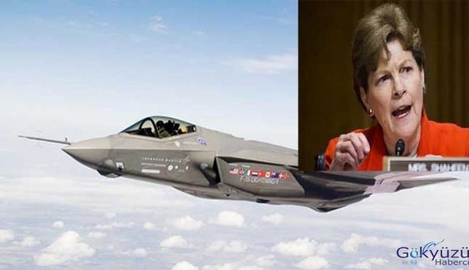 ABD'li senatör F-35'in engellemek için  yasa tasarısı hazırladı