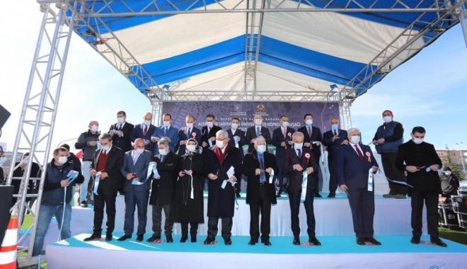 (Adıyaman Üniversitesi) Kavşağı Açılış Töreni(video)