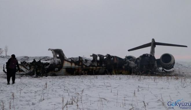 Düşen uçağın ABD ordusuna ait olduğu ortaya çıktı