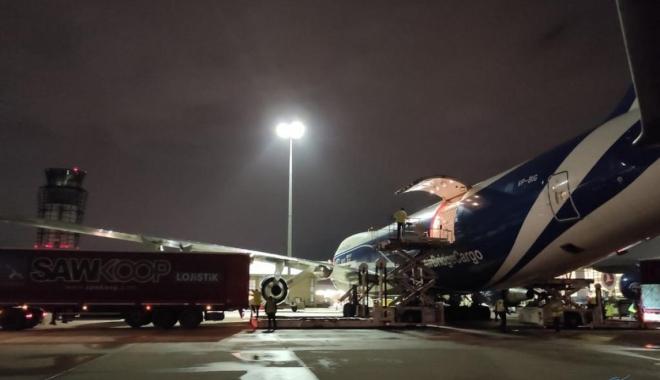 Air Bridge kargo uçağı Sabiha Gökçen Havalimanı'na indi