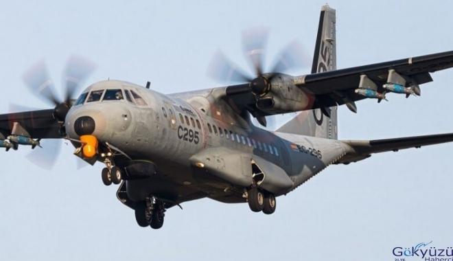 Airbus C295'e Roketsan TEBER entegrasyonu!