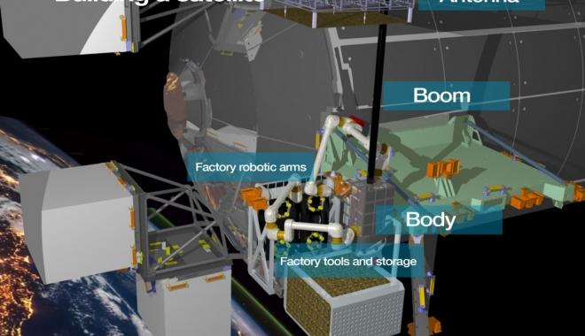 Airbus, uzaydaki ilk uydu fabrikasının öncüsü oldu