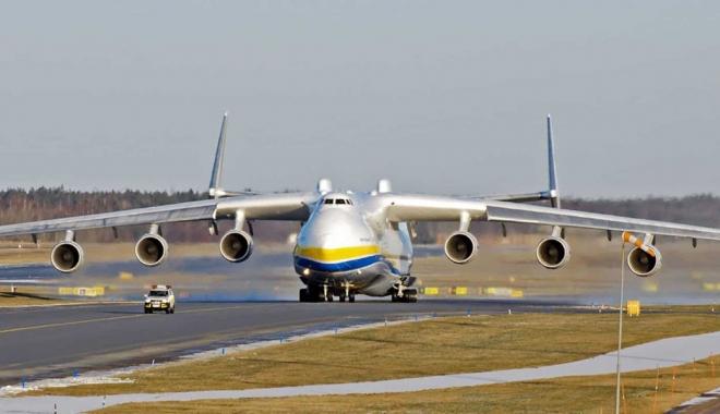 AN-225, bir dizi ticari uçuştan sonra üsse döndü #video