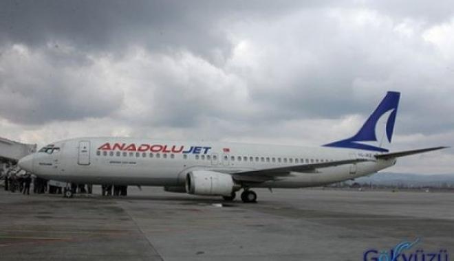 Anadolu Jet Uçak İptali ve10 TL Para İadesi!
