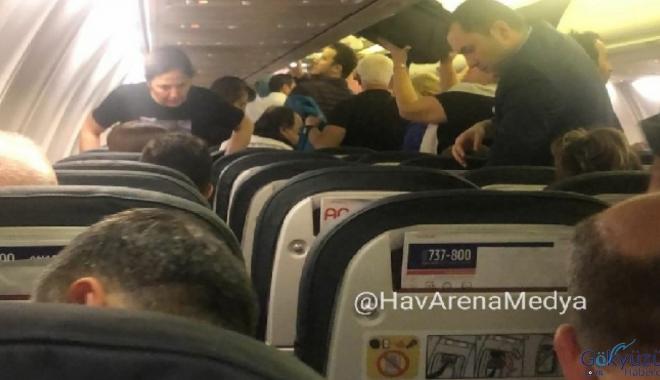 Anadolujet'le 4 yolcu korkarak uçmaktan vazgeçti!