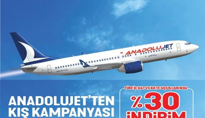 AnadoluJet'ten Kış Kampanyası