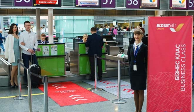 ANEX Tour Ukrayna'dan Business Class hizmeti