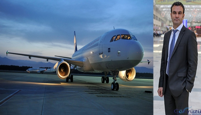 Antalya'ya bir günde 190 uçak inip kalktı