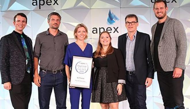 APEX'ten Air France'a Ödül