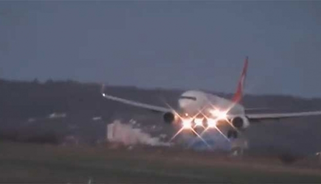 Arızalanan THY uçağı geri döndü!