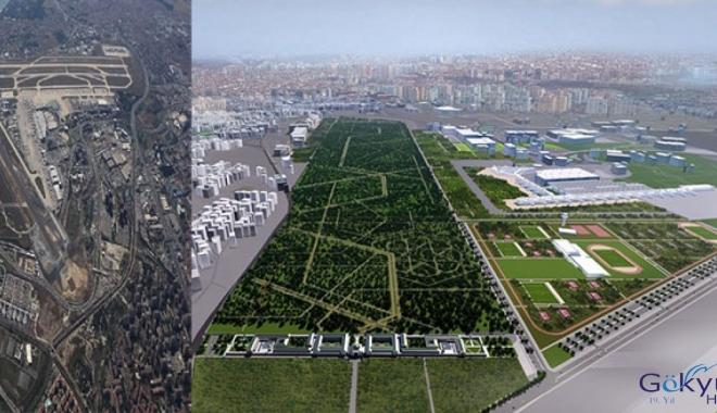 Atatürk Havalimanı Millet Bahçesi'nin görseli!
