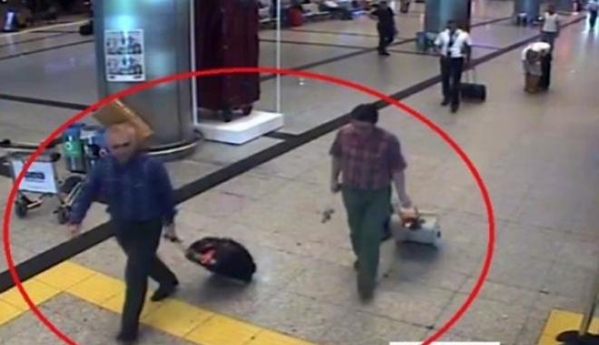 Atatürk Havalimanı'nda Böyle Görüntülendiler