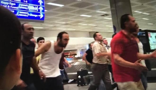Atatürk Havalimanında 15 Temmuz gecesi#video