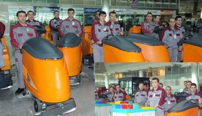 Atatürk Havalimanı'nda işsiz kaldılar!