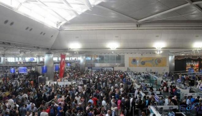 Atatürk Havalimanı'nda yeni yılın ilk rekoru kırıldı!